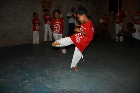 Sport in Capoeira Group in Bahia, Brazil