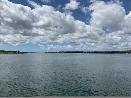 Estuary of Rio Sao Francisco in Sergipe