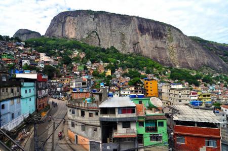 Favela Rocinha in Rio