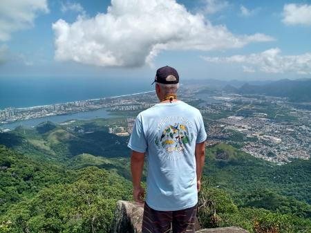 Hortas Cariocas: View over the green Rio de Janeiro