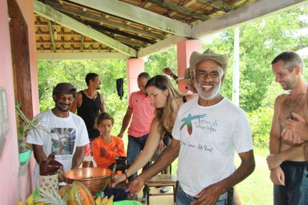 Laughing Brazilians in Bahia