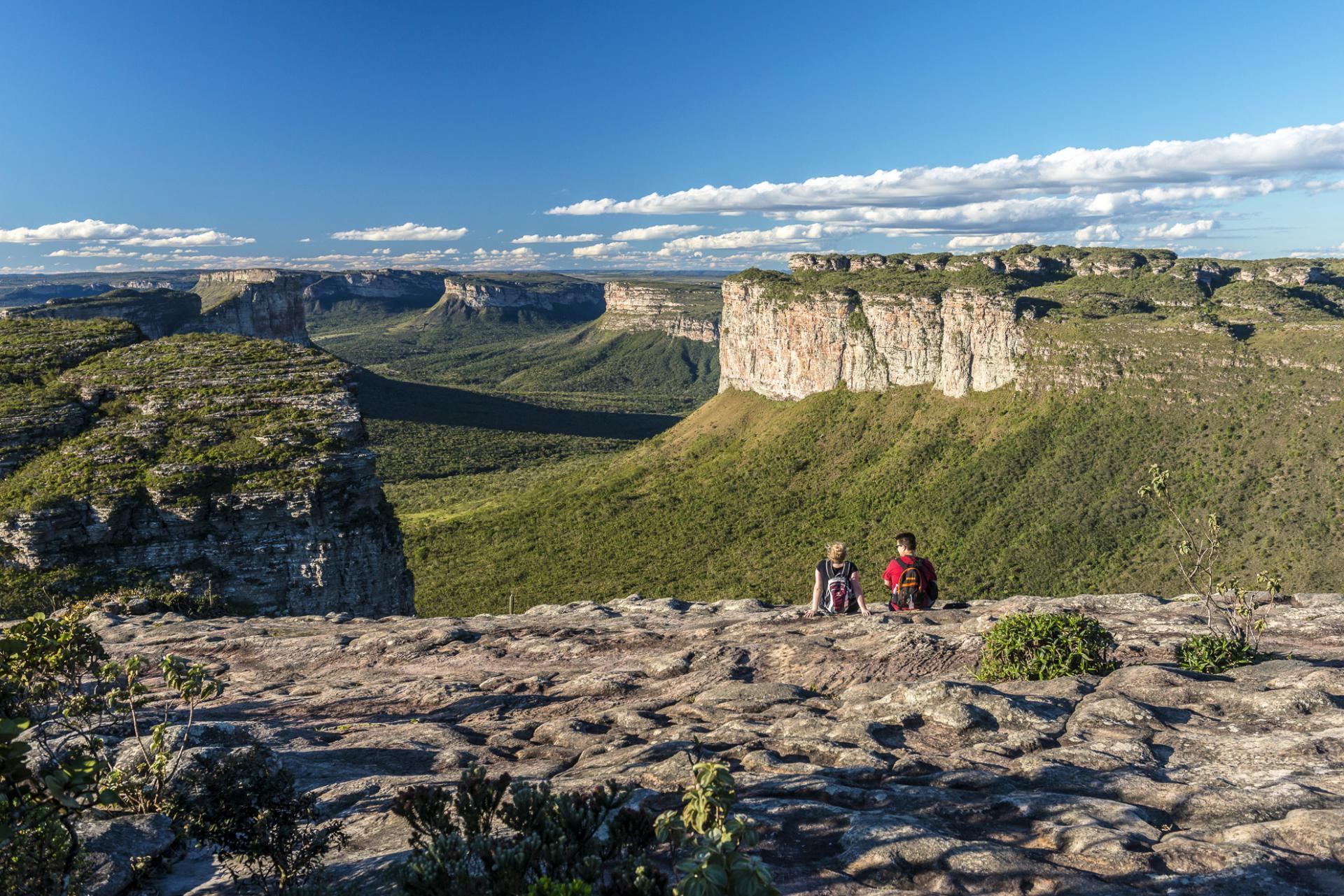 Viewpoint of Chapada Diamantina.