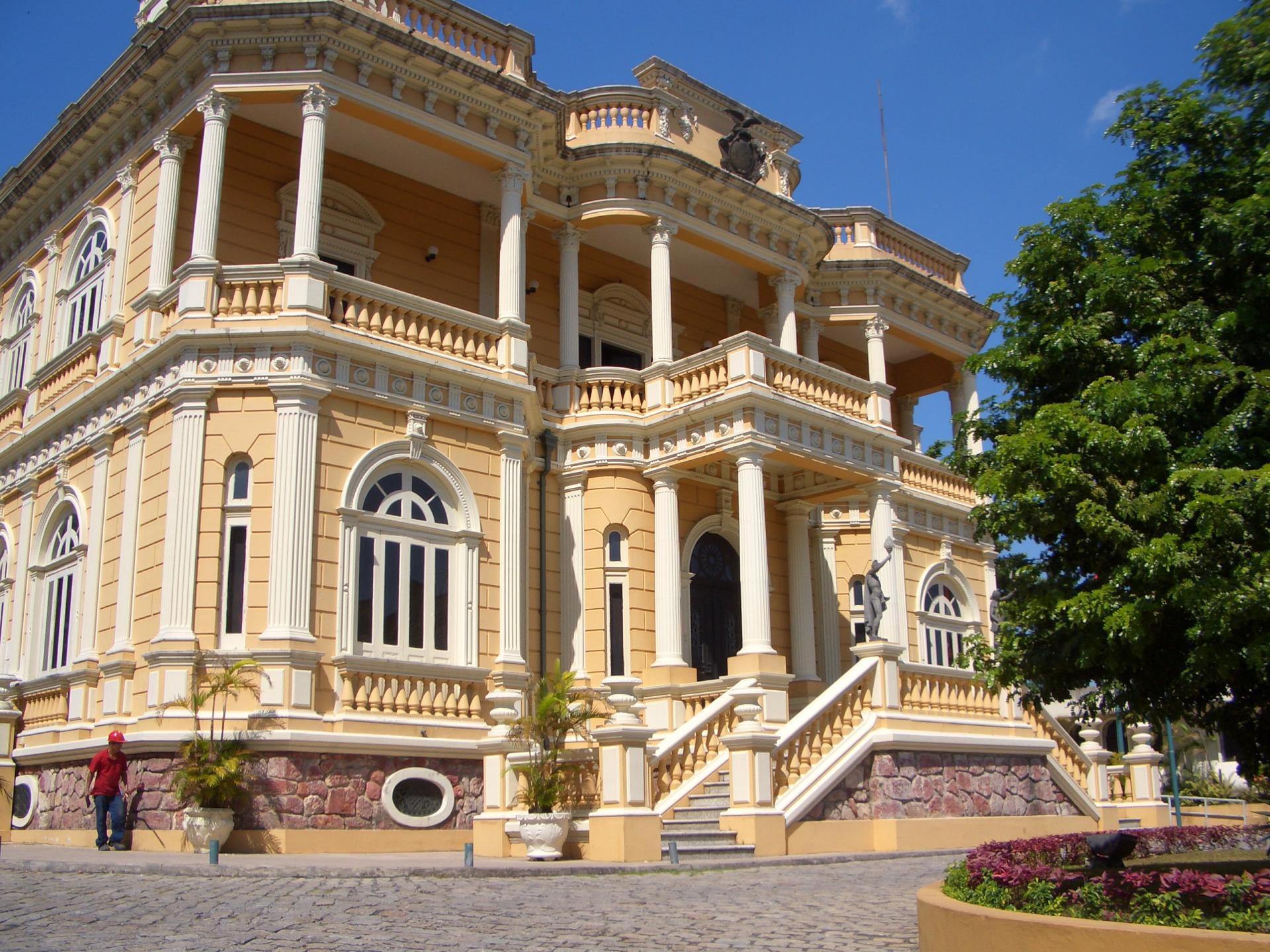 The Rio Negro Palace in Manaus