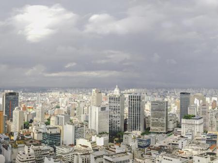 Panorama of Sao Paulo