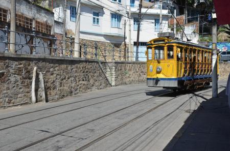 Streetcar in Santa Teresa in Rio