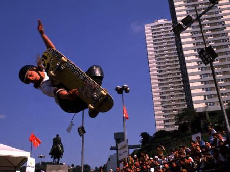 Skater in Rio