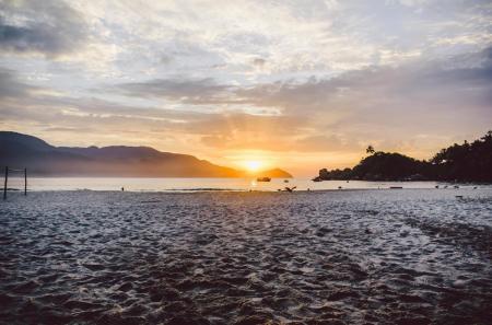 View of the sunrise Ilha Grande
