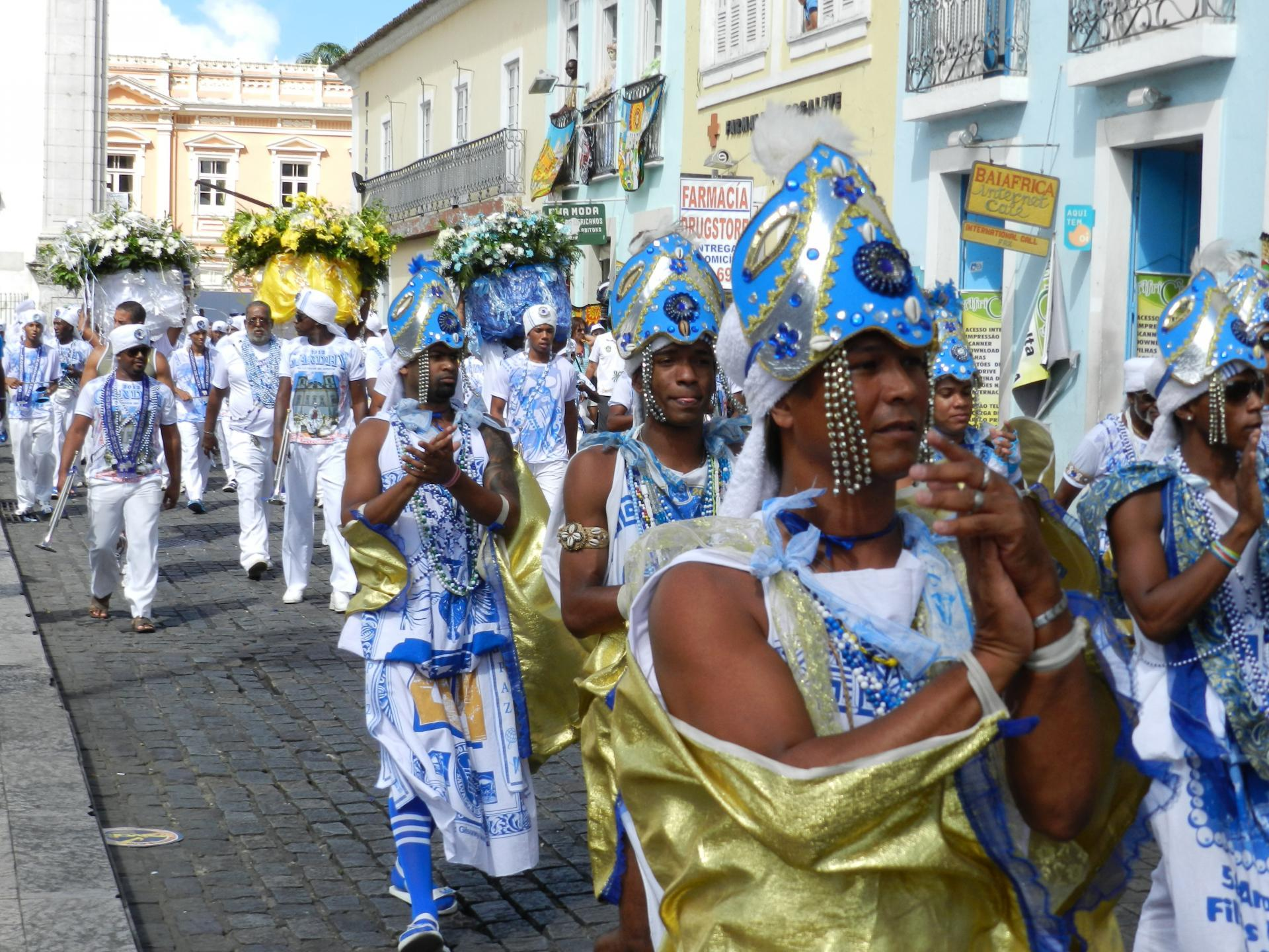 Traditions in Brazil Procession in Salvador