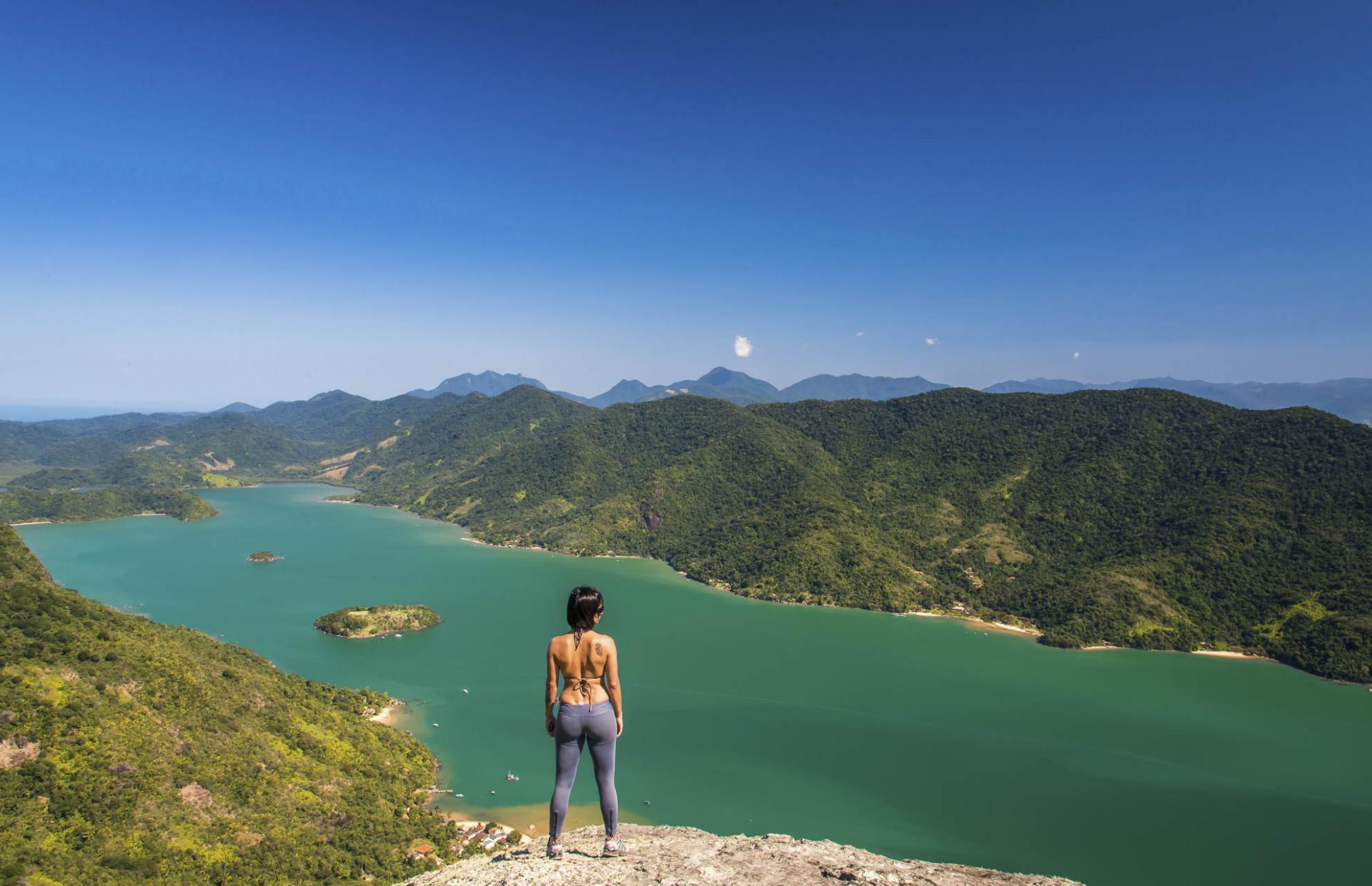 Grandiose view near Paraty