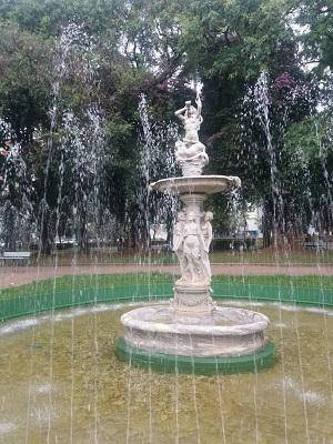 Fountain in a park in Belo Horizonte