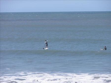 Stand-Up Paddler in Brazil
