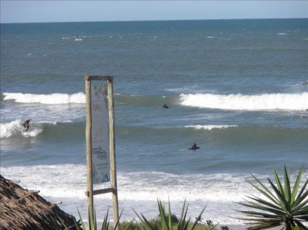 Surfers in Brazil