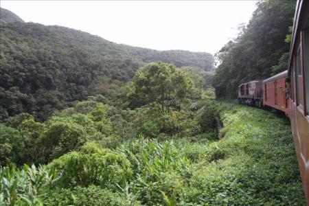Railroads in Brazil