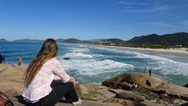 Anja Nina during her internship in Florianopolis Brazil