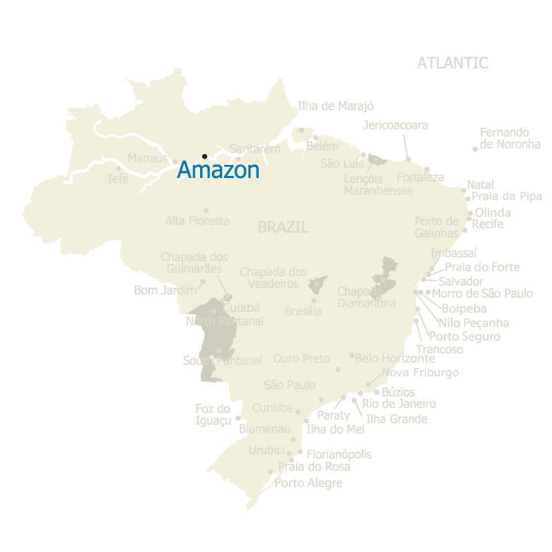Brazil Map Alta Floresta