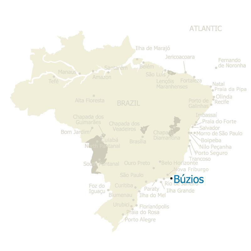 Brazil Map Buzios