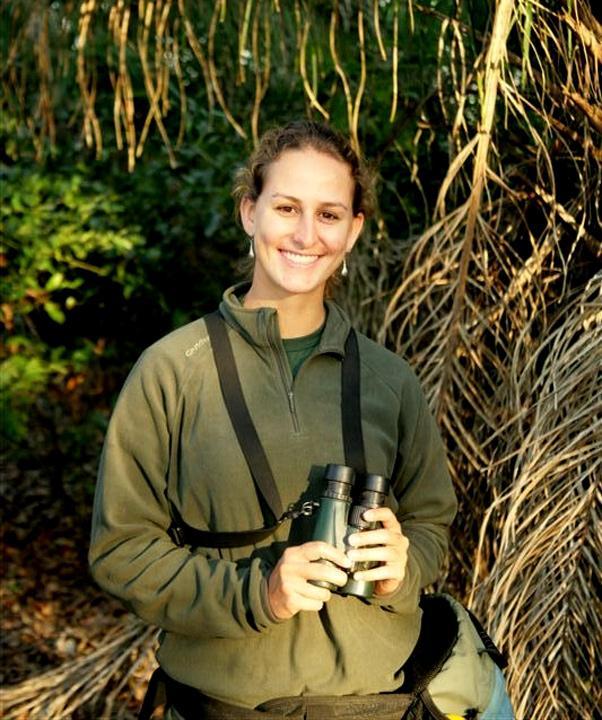 Guide Lela in South Pantanal