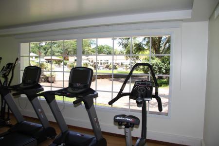 The local gym at Belmond Hotel das Cataratas