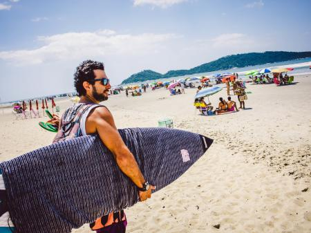 Surfing and cultural experiences in your leisure time in Florianopolis