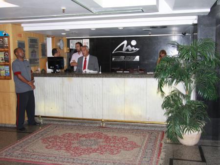 Lobby at Hotel Ibiza Copacabana