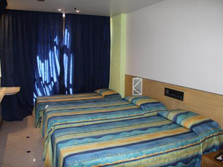 Example of a room of Hotel Ibiza Copacabana