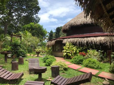 Amazon Turtle Lodge: restaurant