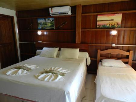 Amazon Turtle Lodge: room