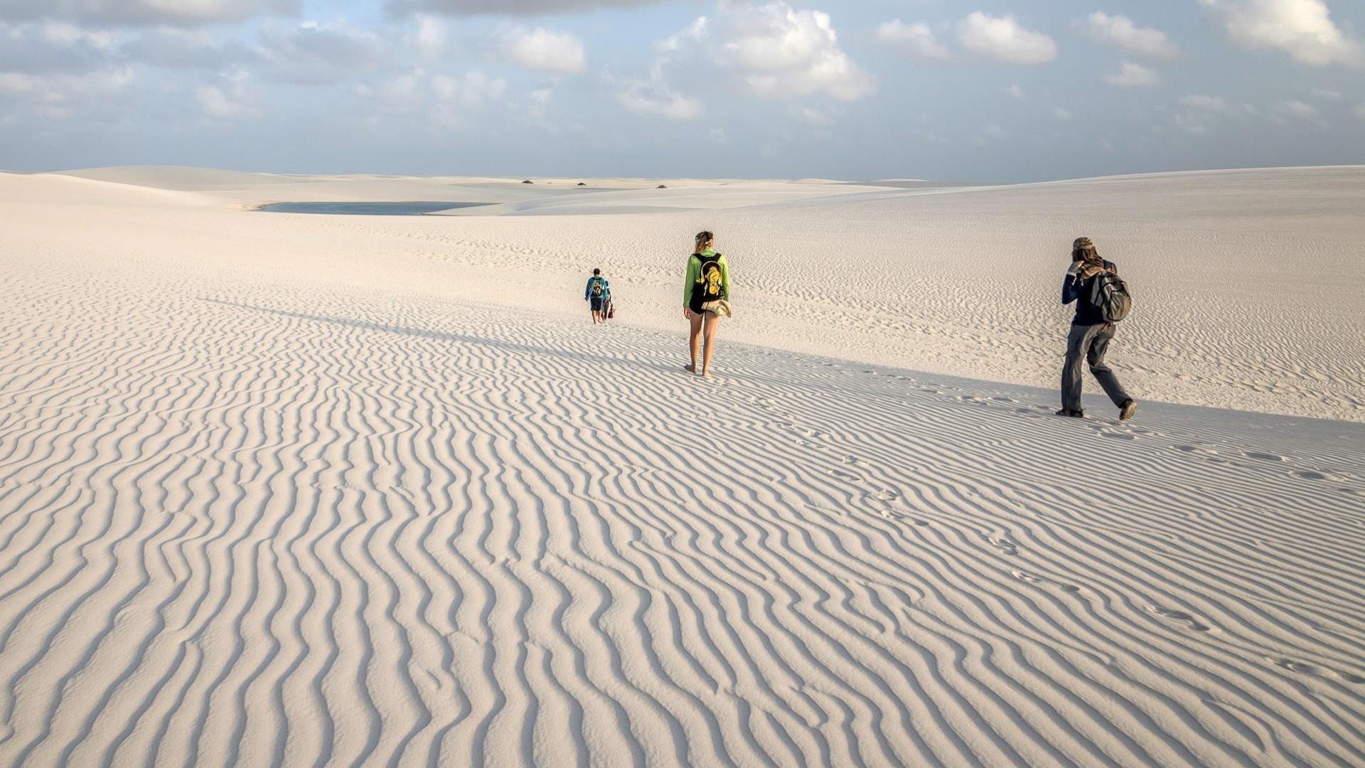 Brazil: Experience Sao Luis and Lencois Maranhenses close-up: endless sand dunes
