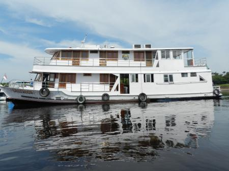 Example of a Amazonas Boat used for expedition cruises