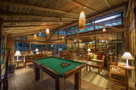 Pool Billard Table at Anavilhanas Jungle Lodge