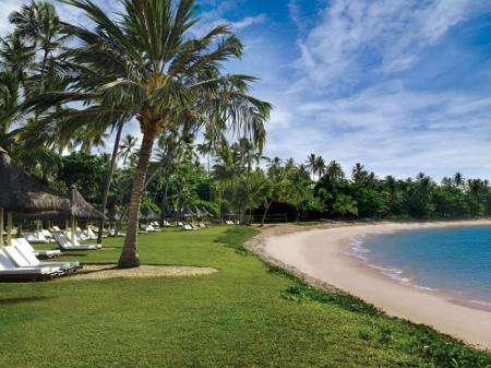 Relaxing atmosphere at on the beach at Tivoli Ecoresort
