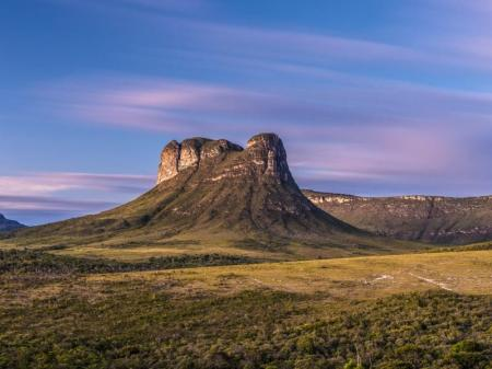 Fascinating mountain landscapes of the Chapada Diamantina