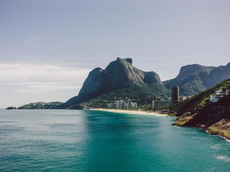 A perfect bay in Rio de Janeiro