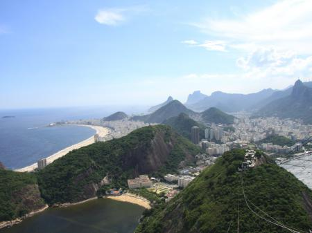 View from the Sugarloaf Mountain