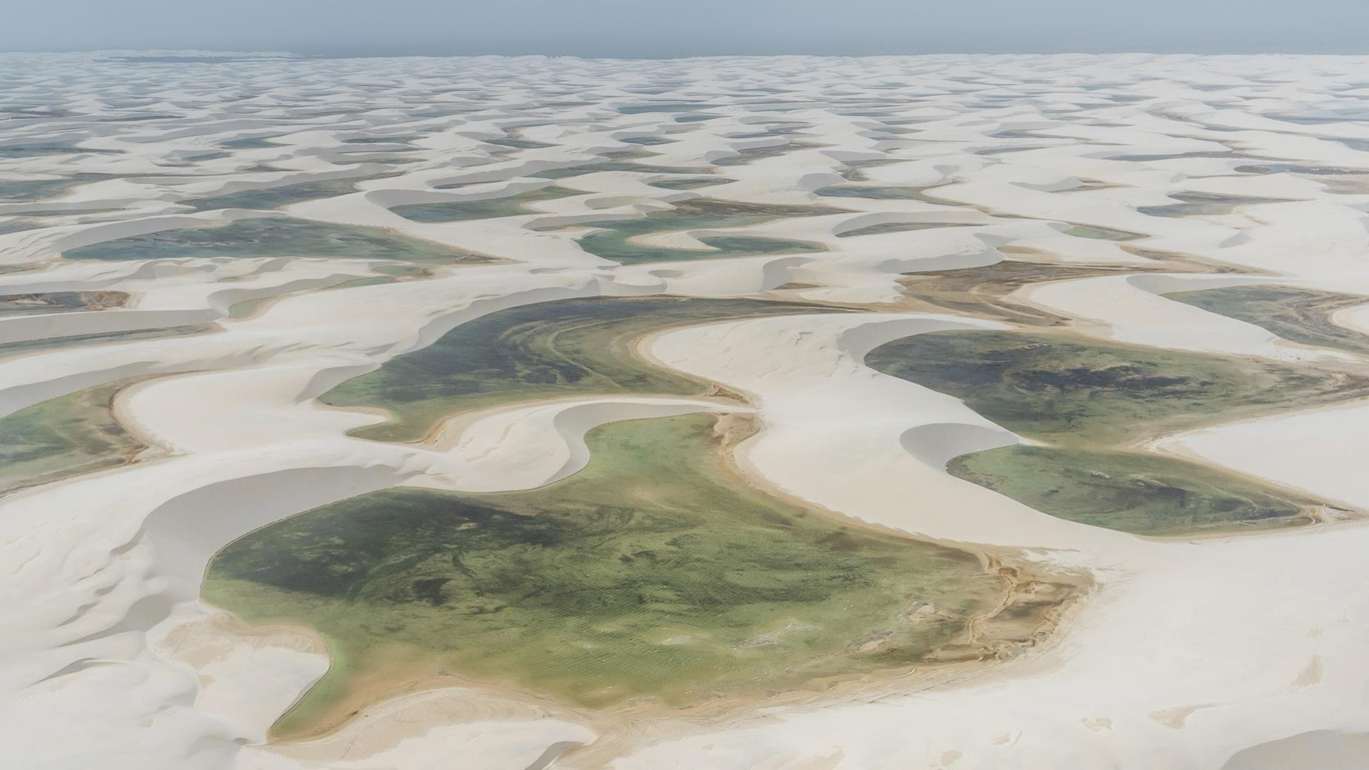 From Sao Luis to Jericoacoara on the Rota das Emocoes: Green oases of the Lencois Maranhenses