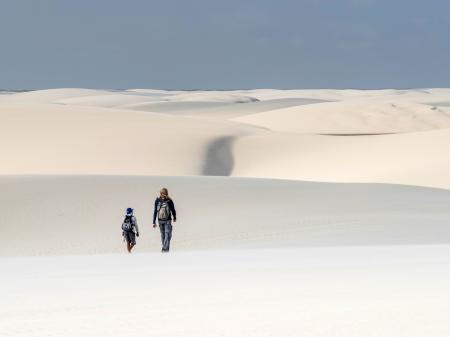 Endless horizons in the dunes of the Lencois Maranhenses