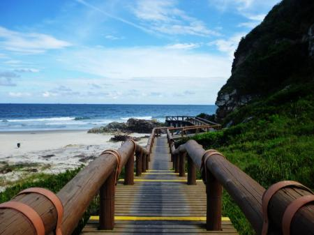 Beatiful beaches on Ilha do Mel