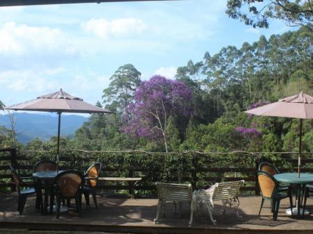 Sun deck of Eco Lodge Itororo in Nova Friburgo