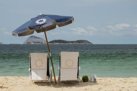 Beach service at Hotel Sol Ipanema