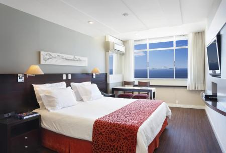 Example of room with sea view at Hotel Sol Ipanema