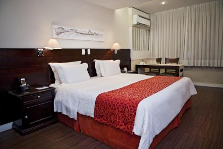 Example of a double room at Hotel Sol Ipanema