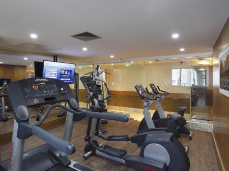 Gym of Hotel Windsor Copa