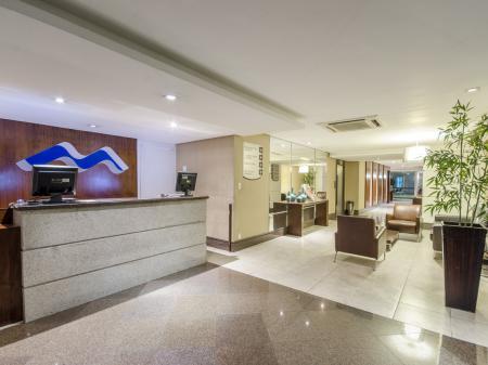 Reception of Hotel Saint Paul