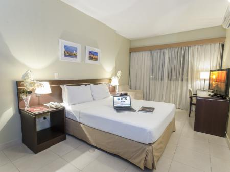 Example of a double room at Hotel Saint Paul