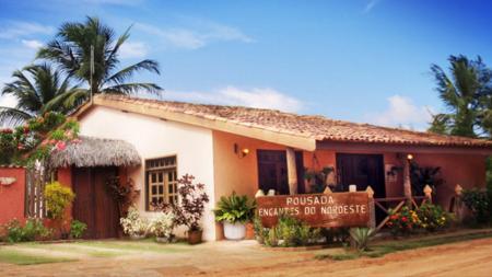 Front side and antrance ares of Pousada Encantes do Nordeste