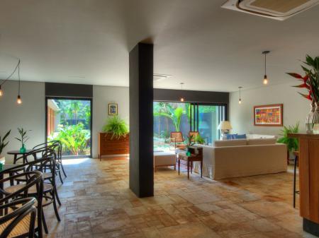 Lobby of Superior Hotel Villa Amazonia