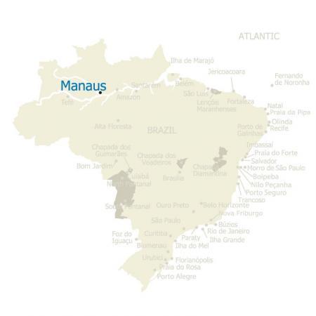 MAP Manaus Brazil