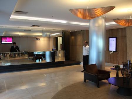 Hotel Arena Copacabana Reception