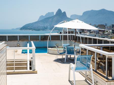 Panoramic view at Hotel Atlantis Copacabana