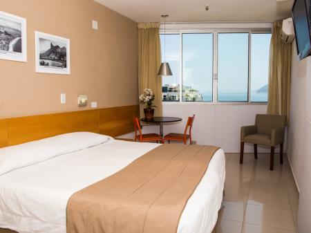 Example of a room at Hotel Atlantis Copacabana